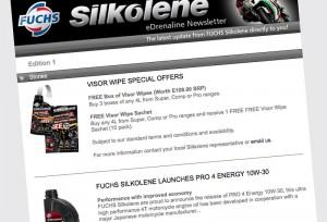 Email Marketing - Fuchs Silkolene Newsletter