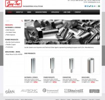 JayTec website home