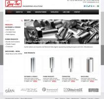 JayTec website home