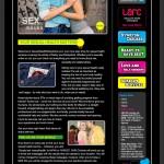 Sexual Health website home