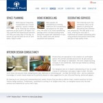 Project Pool Website - services